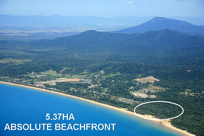 Absolute Beachfront Acreage